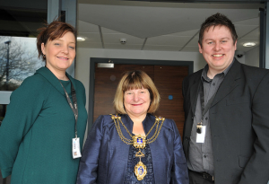 Lord Mayor Visits CASE 29.04.15